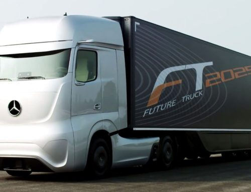 Daimler Starts Testing Connected Truck Technology on European Highways