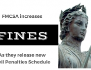 blog title for new FMCSA fines schedule
