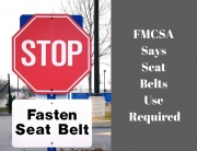 new seat belt rules for trucks