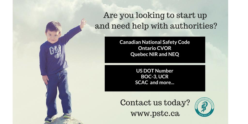 PSTC provides DOT start up authorities