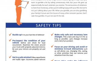checklist for Roadcheck