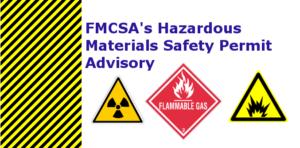 FMCSA Advisory
