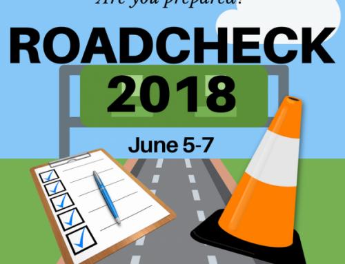 2018 Roadcheck: Right around the corner June 5-7