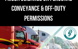guidance on movement as a personal conveyance