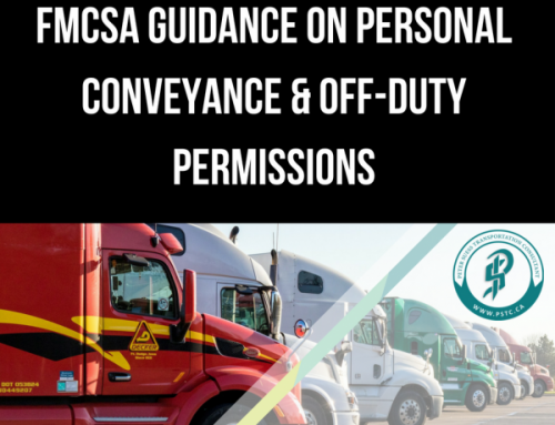New Guidance Regarding Personal Conveyance in the ELD Hours of Service Rule