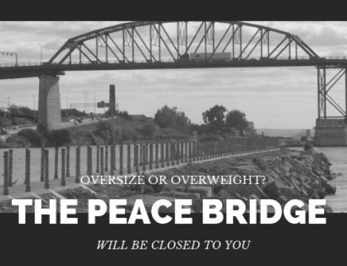 Peace Bridge Closed to oversized and overweight loads