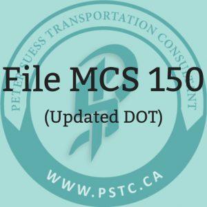 File MCS 150