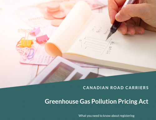 Trucking and the Greenhouse Gas Pollution Pricing Act