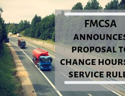 FMCSA announces proposal to change hours of service rules