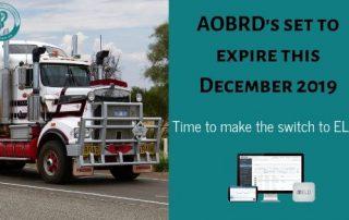 AOBRDS deadline. Switch to ELD