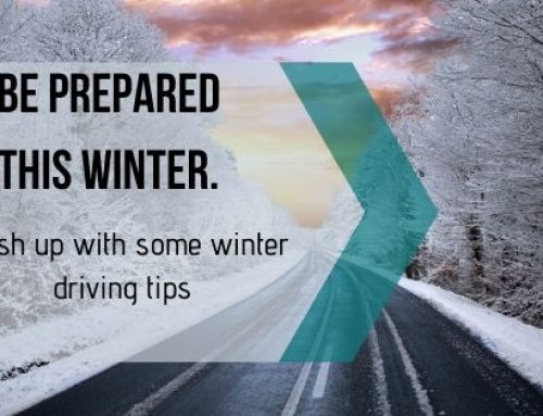 Be prepared this winter. Brush up with some winter driving tips