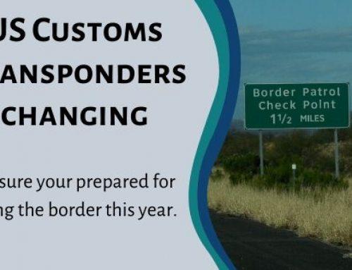 Changes to U.S. Customs Transponders
