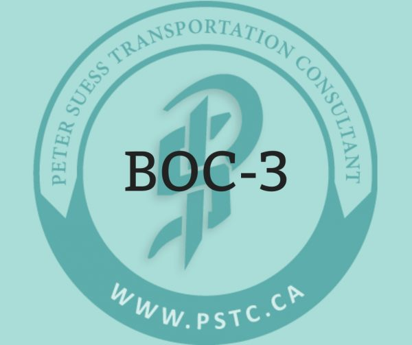BOC-3, Agent of process