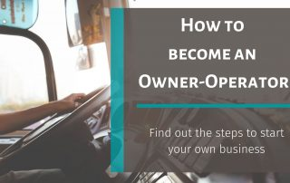 How to become an Owner-Operator