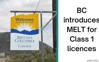 British Columbia MELT