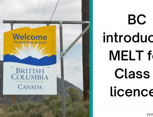 BC introduces Mandatory Entry-Level Training for Class 1 licences